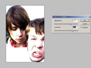 Трафарет в Photoshop