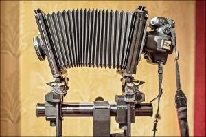 Sinar 4x5 DSLR адаптер