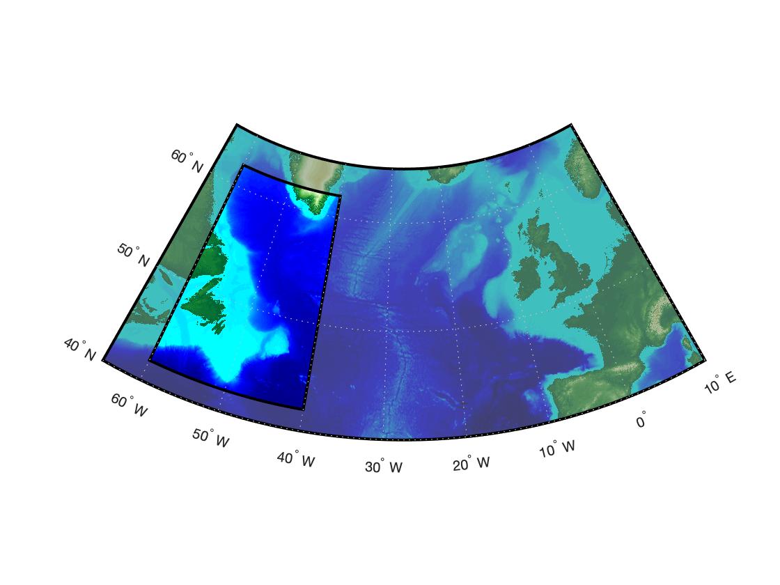 Выделяем прозрачностью район на карте в MATLAB